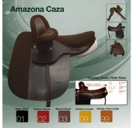 Zaldi Amazon Caza side saddle